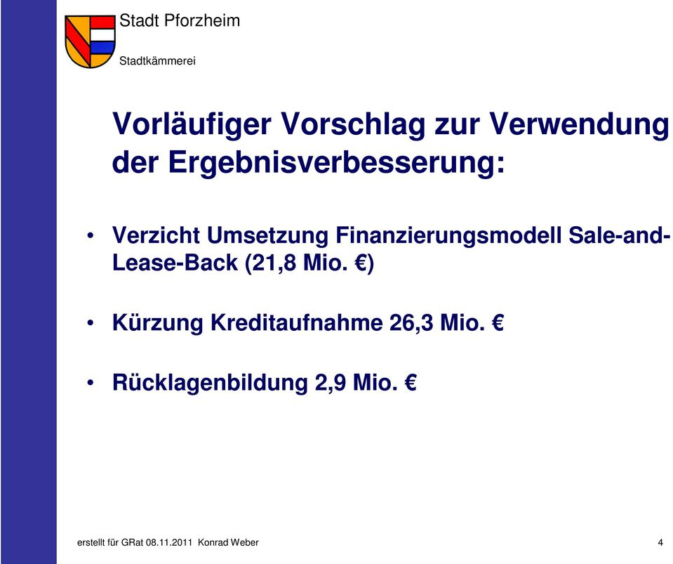Finanzierungsmodell Sale-and- Lease-Back (21,8