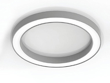 Neue Serie - Ringleuchten in LED 2015/16 PETRONE Technical Features - Aluminium body, painted electrostatically in selected colour - Direct illumination - Pure light without IR/UV radiation -
