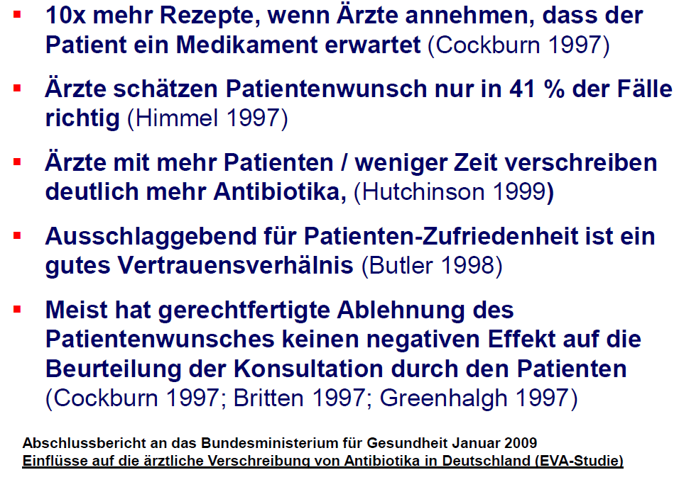Patientenerwartung und