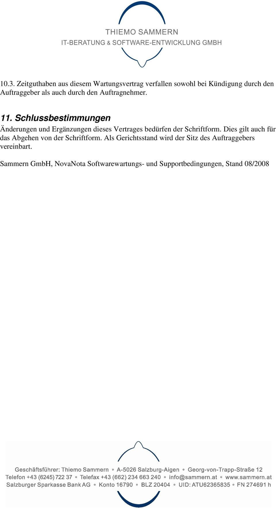 Novanota Softwarewartungs Und Supportbedingungen Pdf