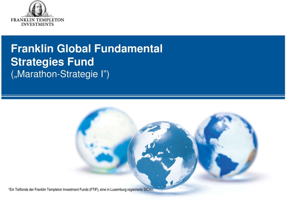 Teilfonds der Franklin Templeton