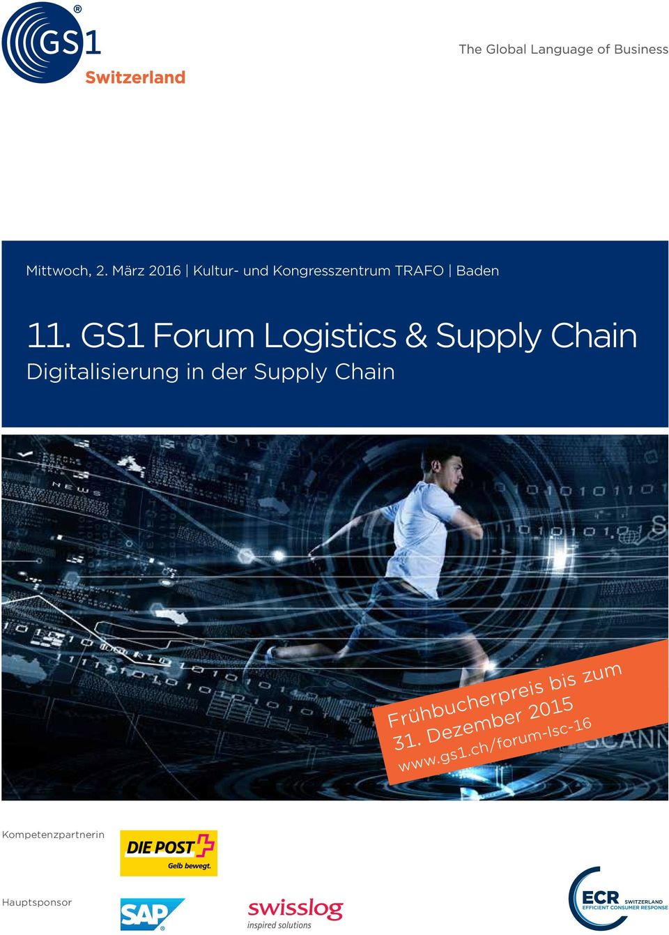 GS1 Forum Logistics & Supply Chain Digitalisierung in der