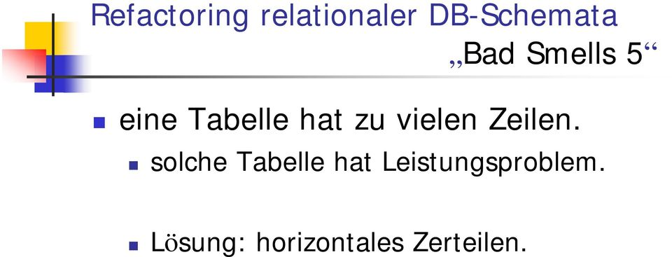 solche Tabelle hat