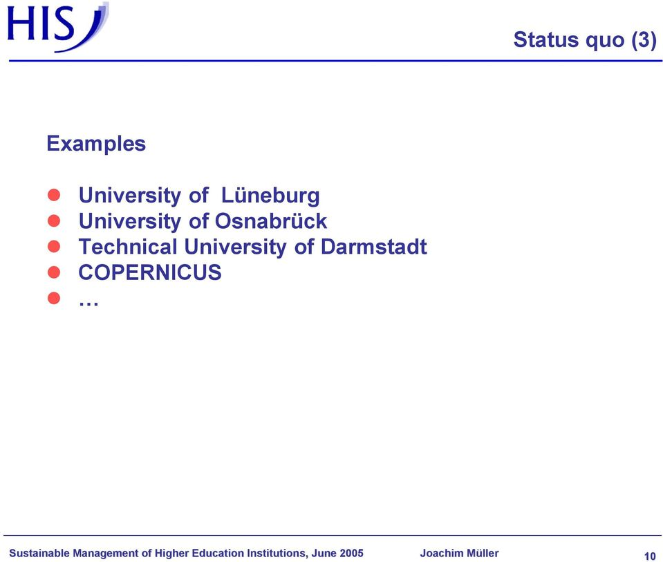 Darmstadt COPERNICUS Sustainable Management of