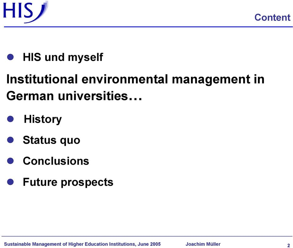 Conclusions Future prospects Sustainable Management