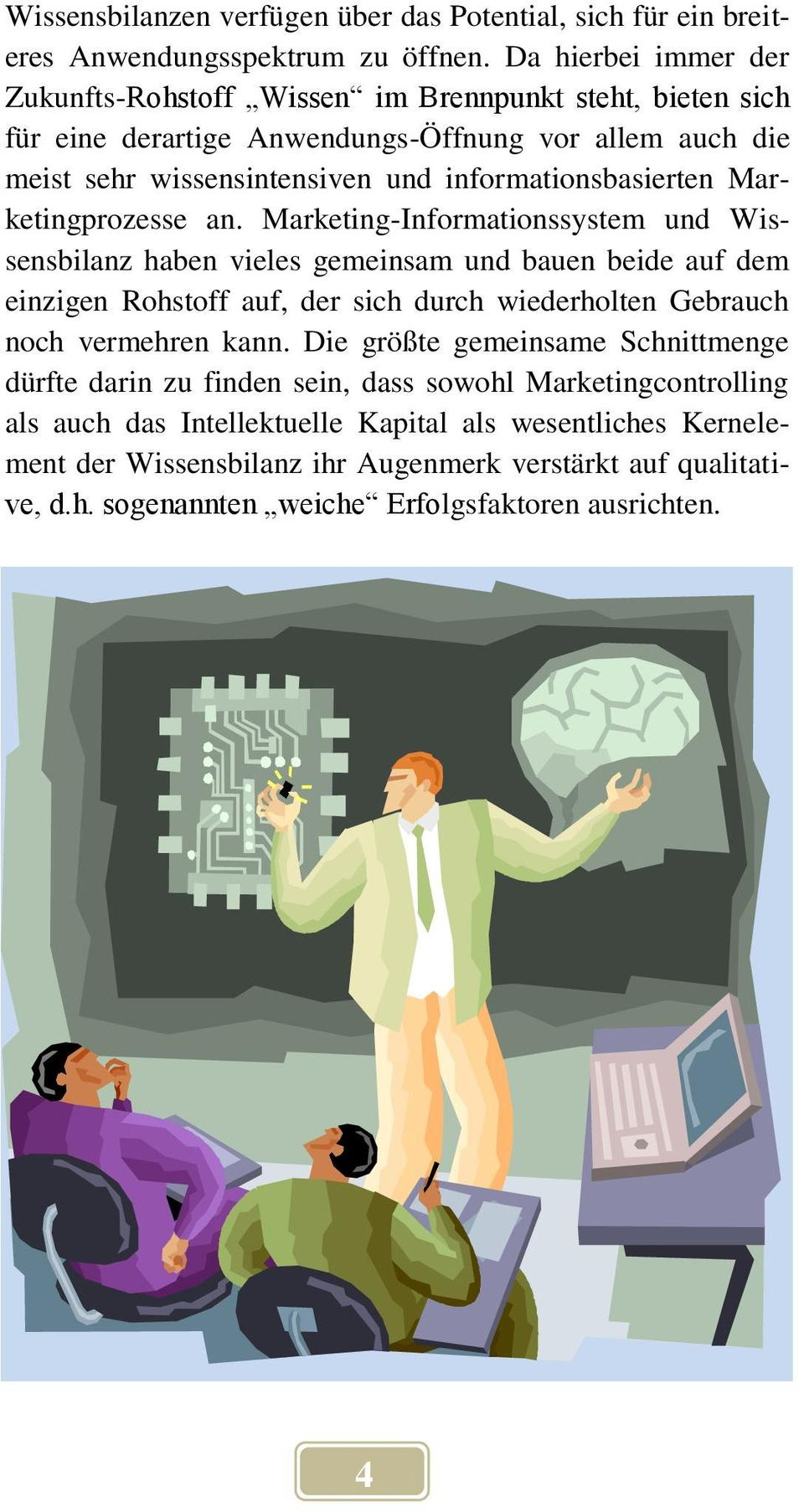 informationsbasierten Marketingprozesse an.