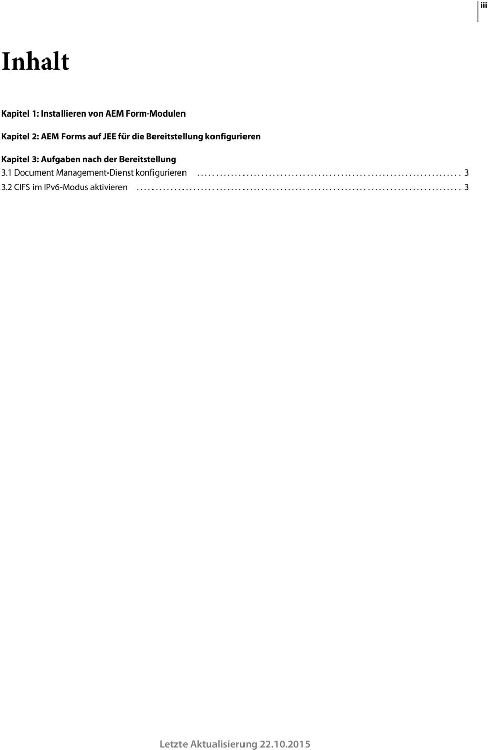 1 Document Management-Dienst konfigurieren...................................................................... 3 3.