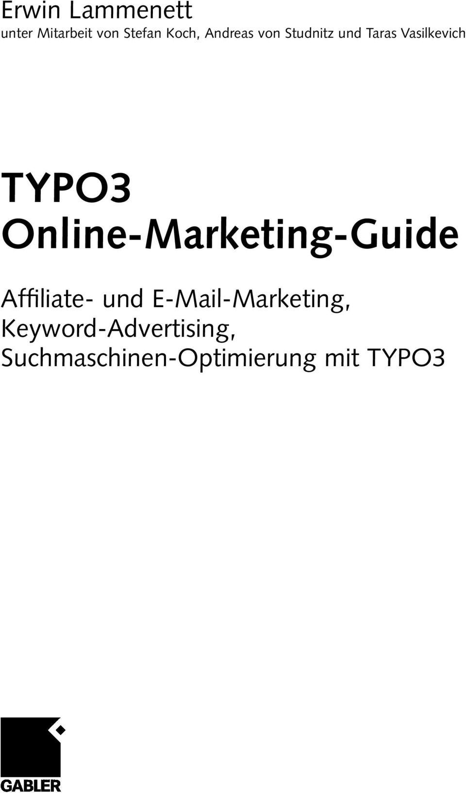 Online-Marketing-Guide Affiliate- und