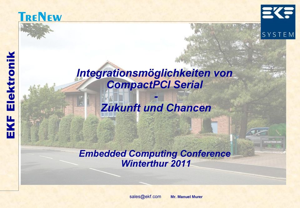 Chancen Embedded Computing