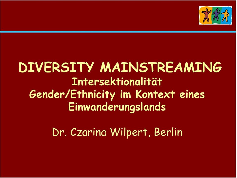 Gender/Ethnicity im Kontext