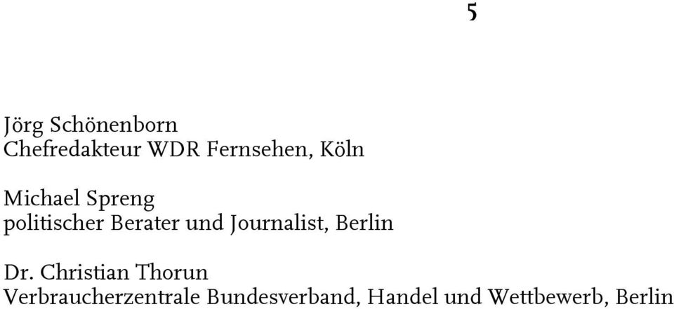 Journalist, Berlin Dr.