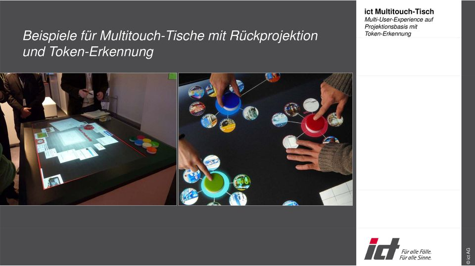 Multitouch-Tisch Multi-User-Experience