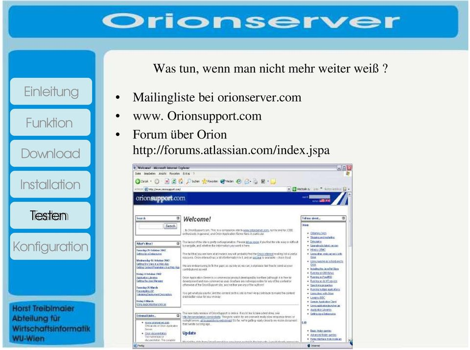 com www. Orionsupport.