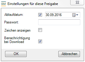 Vorstellung der Software Outlook Add-In Upload Dialog im