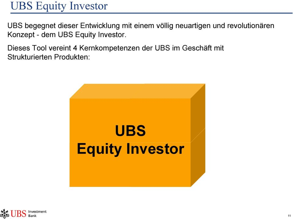 Equity Investor.