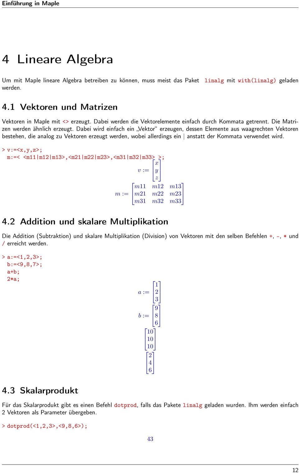 Contemporary Multiplikation Von Matrizen Arbeitsblatt Elaboration ...