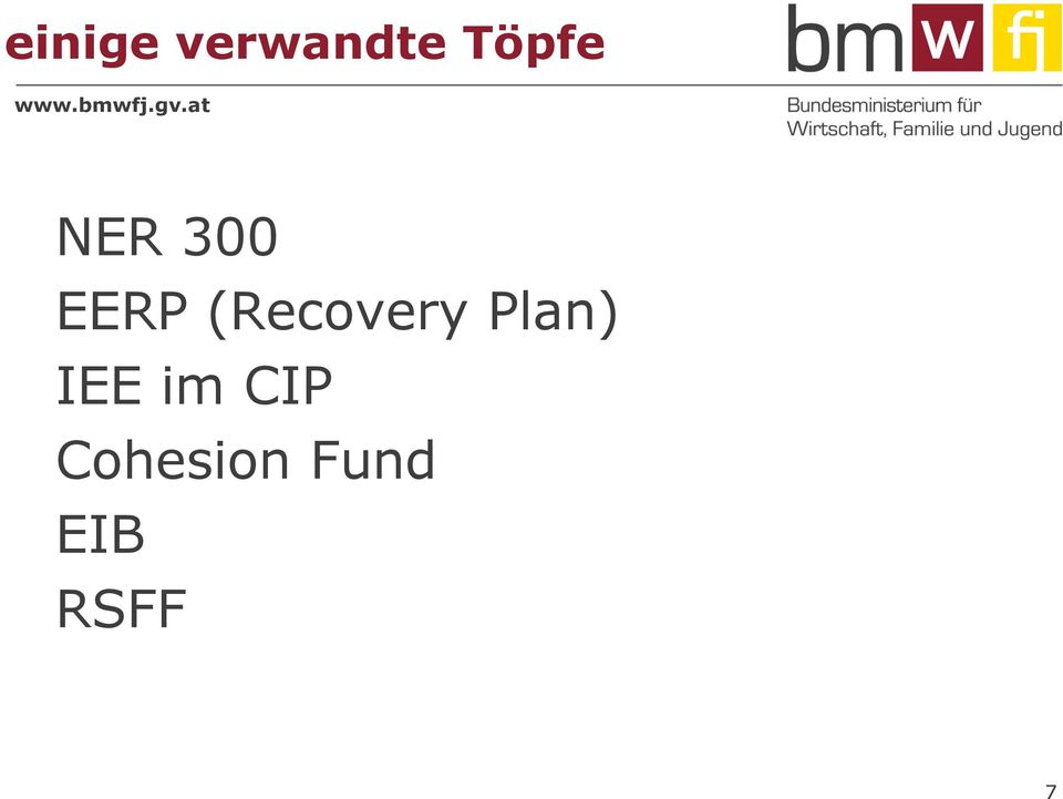 (Recovery Plan) IEE
