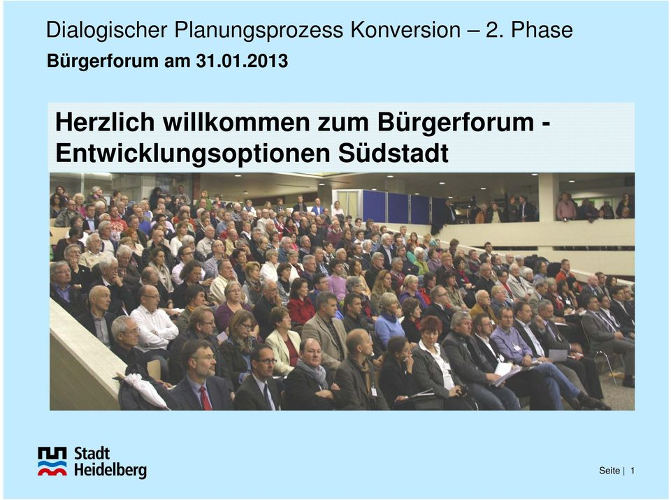 Bürgerforum -