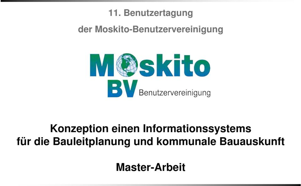 Konzeption einen Informationssystems