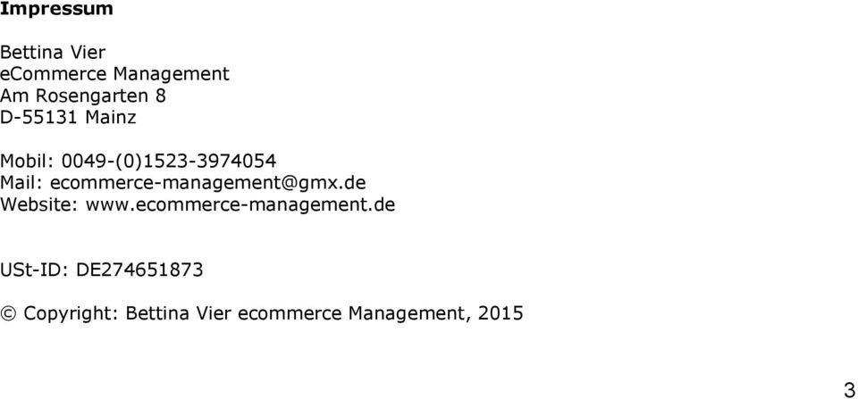 de Website: www.ecommerce-management.