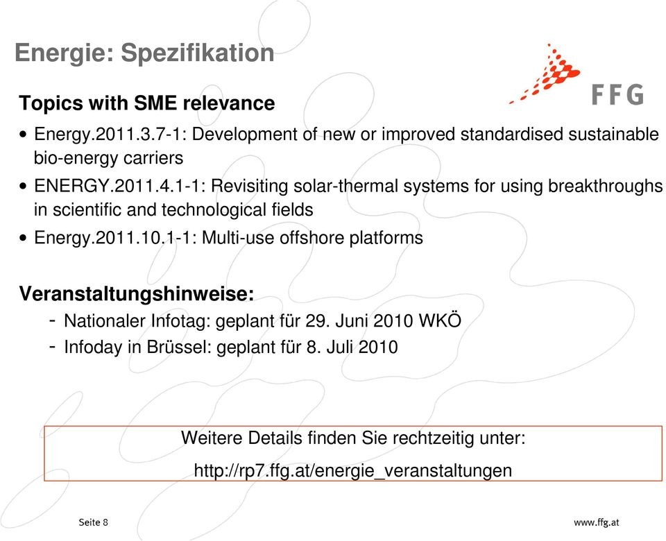 1-1: Revisiting solar-thermal systems for using breakthroughs in scientific and technological fields Energy.2011.10.