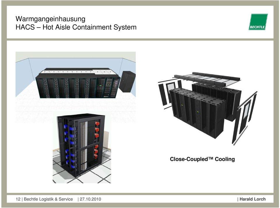 Close-Coupled Cooling 12