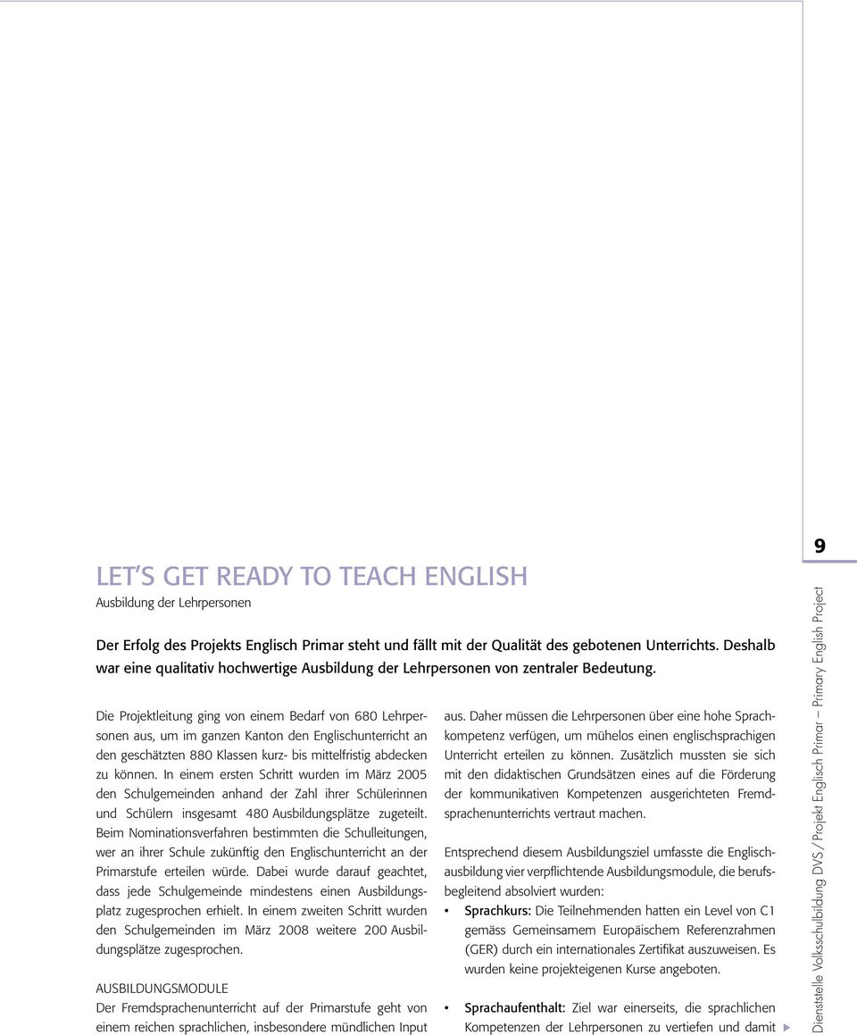 Projekt Englisch Primary English Project Pdf