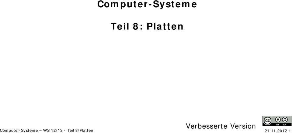 Version Computer-Systeme