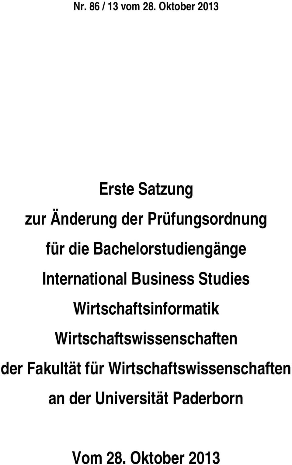 Bachelorstudiengänge International Business Studies