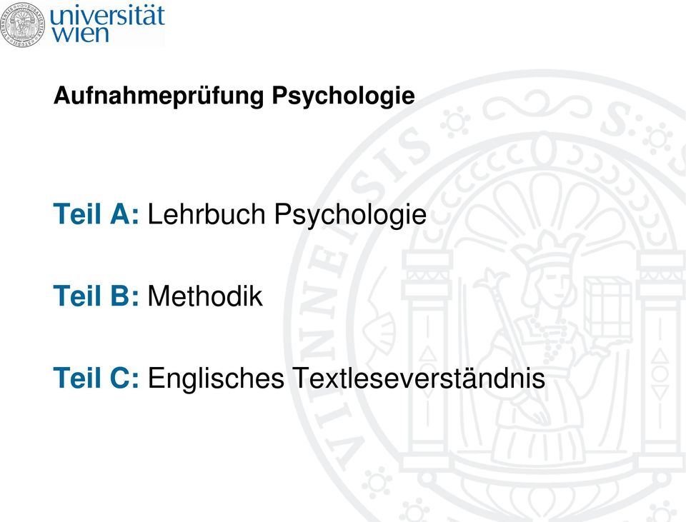 Psychologie Teil B: