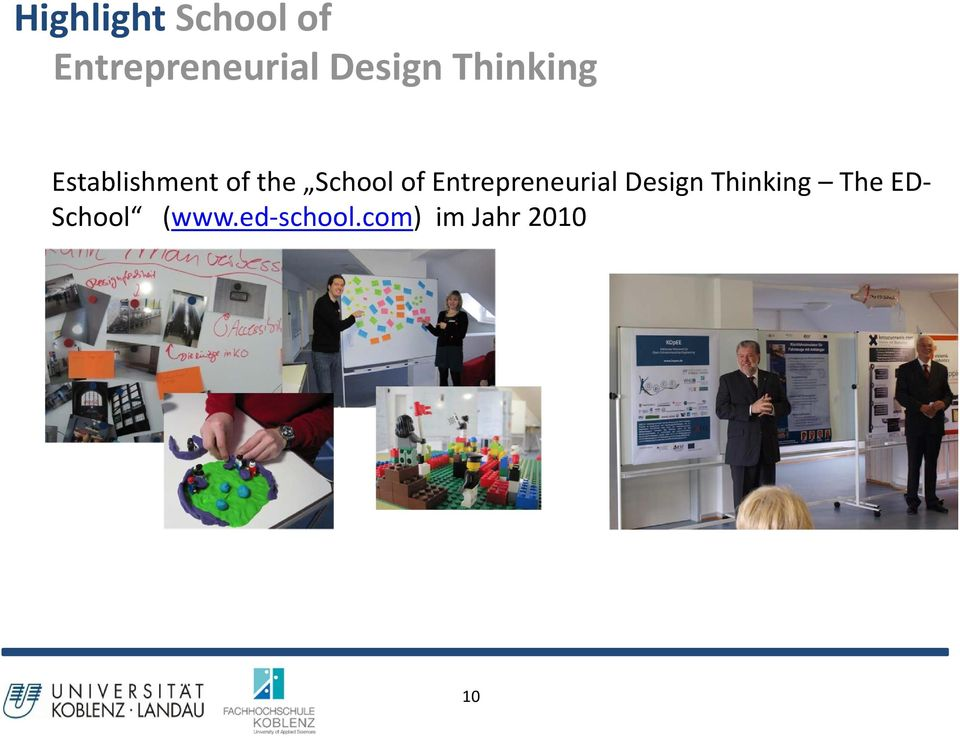 School of Entrepreneurial Design