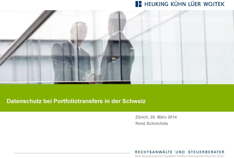 Portfoliotransfers in der