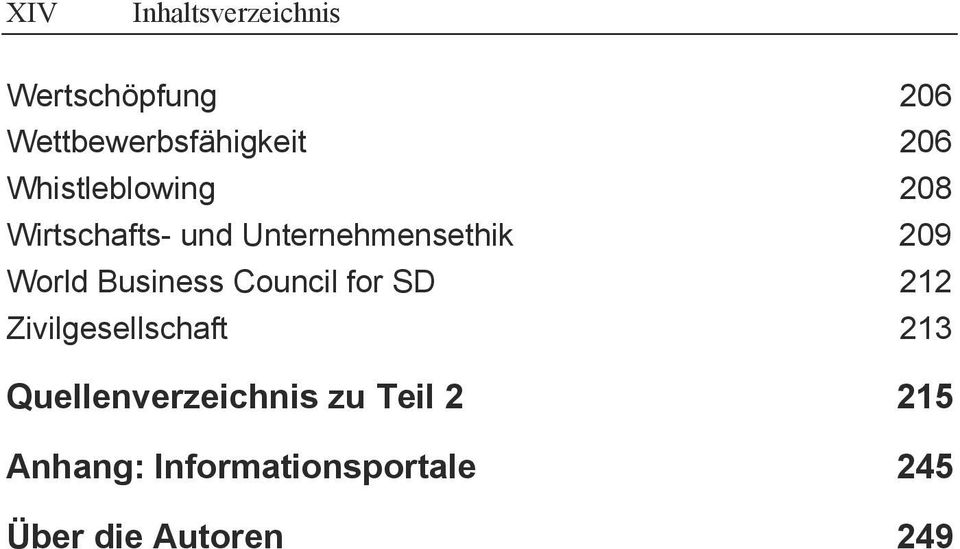 Business Council for SD 212 Zivilgesellschaft 213