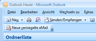 Abb. 3: IRM Integration in Outlook Mail Abb. 4: IRM Integration in Outlook Workspaces Kollaboration Fluch oder Segen?