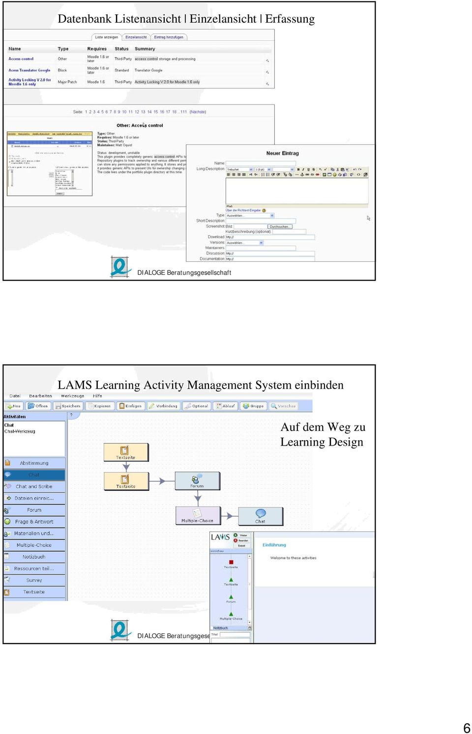 Learning Activity Management