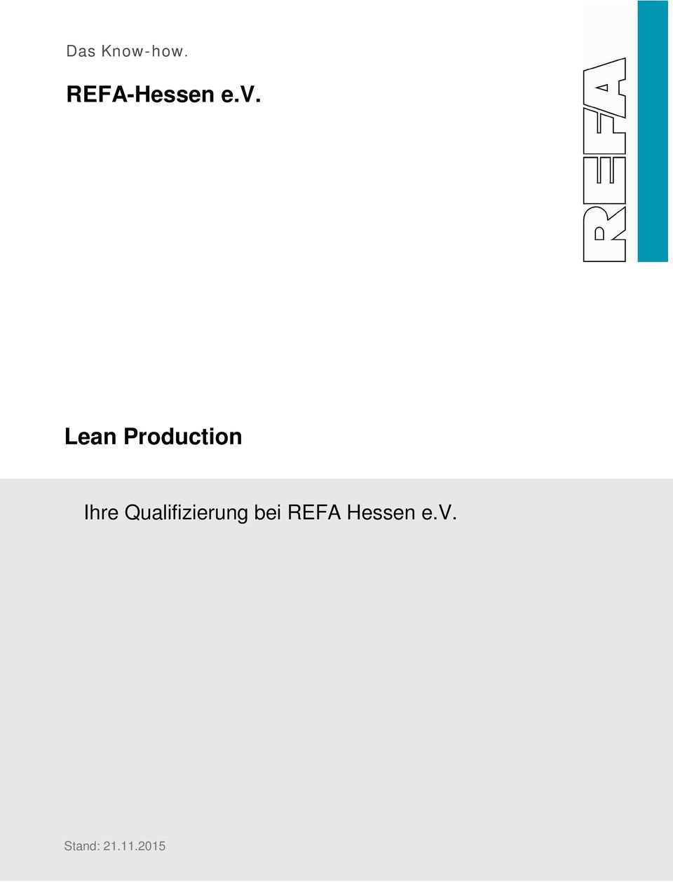 Lean Production Ihre