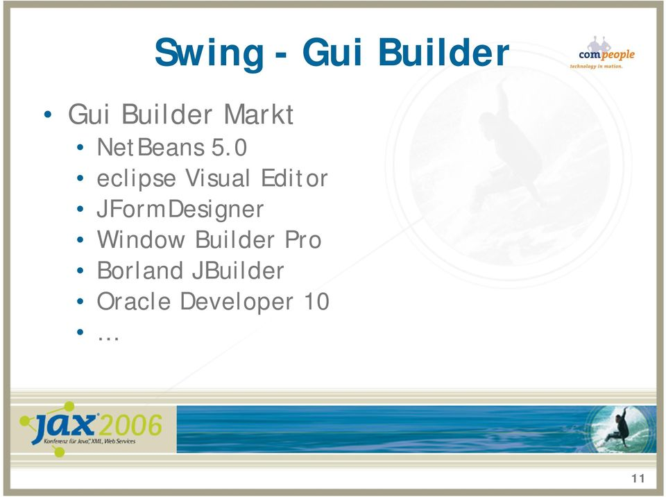 how to open swing builder in eclipse