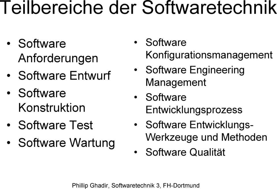 Konfigurationsmanagement Software Engineering Management Software