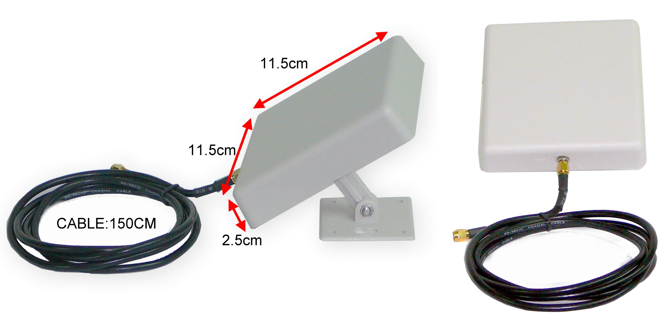 70,80 EUR 0,2 kg Trycom Wireless zu serielle Geräte TRY-ANT-2.4G-9DB (Option) Trycom Mini Outdoor direction antenna(open filed up to 1kM, für TRP-C51) 0.