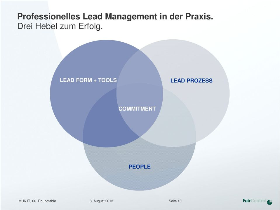 LEAD FORM + TOOLS LEAD PROZESS COMMITMENT