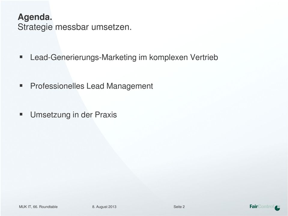 Vertrieb Professionelles Lead Management