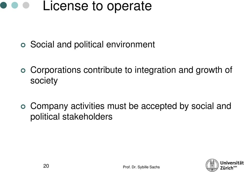 integration and growth of society Company