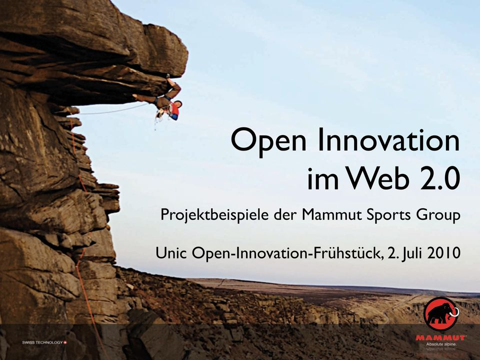 Mammut Sports Group Unic