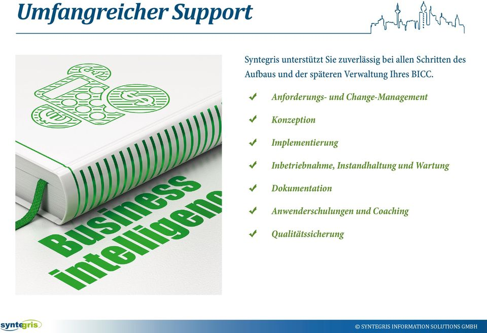 Anforderungs- und Change-Management Konzeption Implementierung