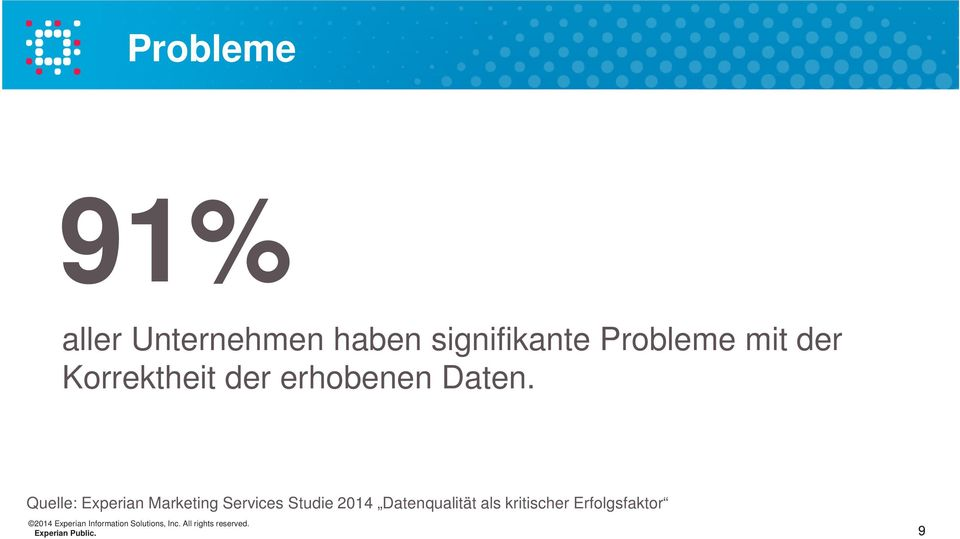 Quelle: Experian Marketing Services Studie 2014