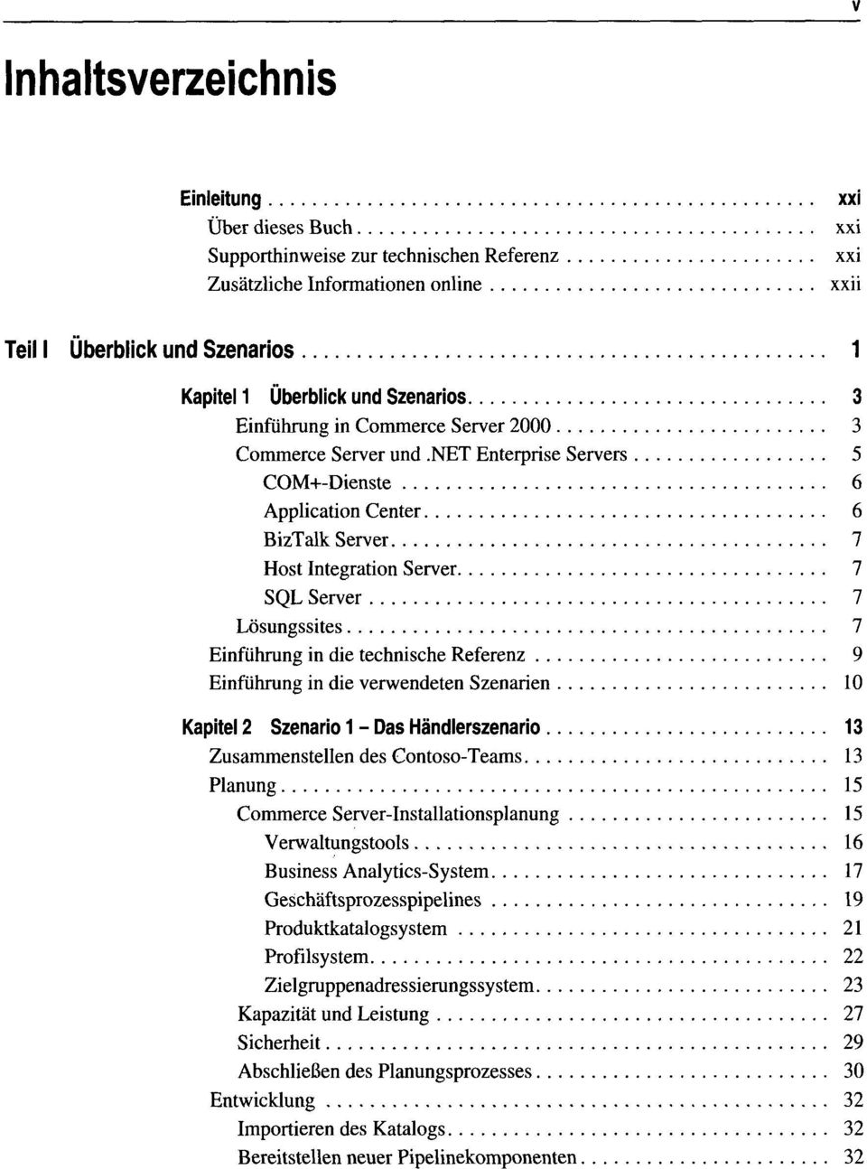 Commerce Server Die technische Referenz - PDF