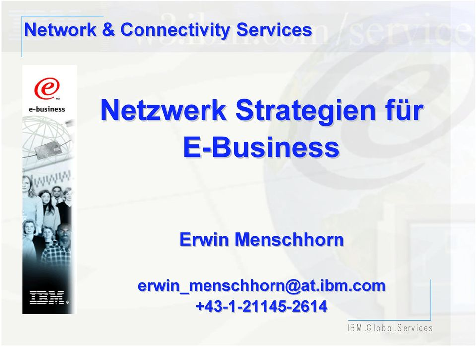 E-Business Erwin Menschhorn