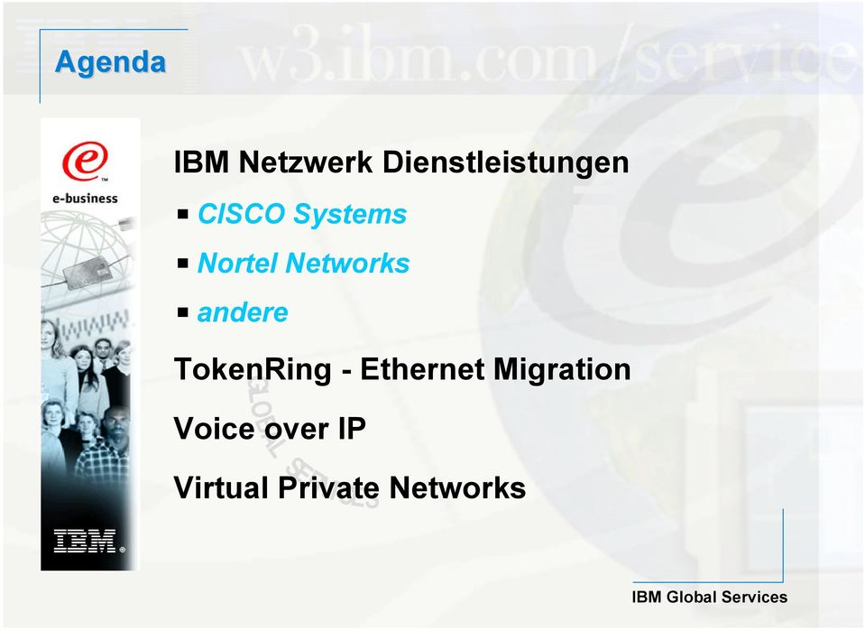 TokenRing - Ethernet Migration GLOBAL