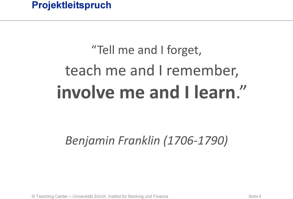 remember, involve me and I