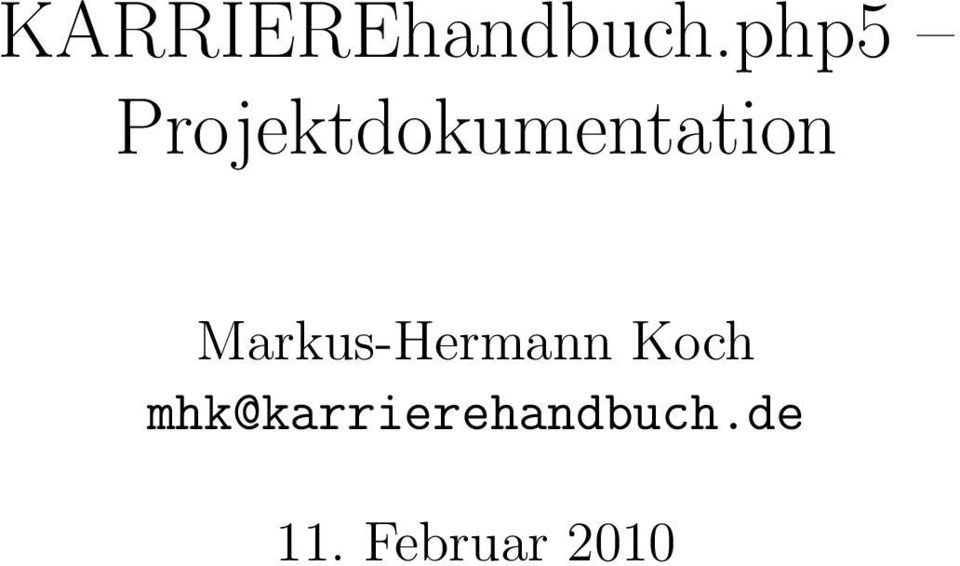 Markus-Hermann Koch